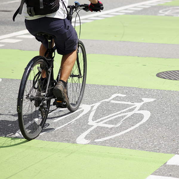 Cycle to other local companies using our bike lanes (think: collaboration with other businesses).